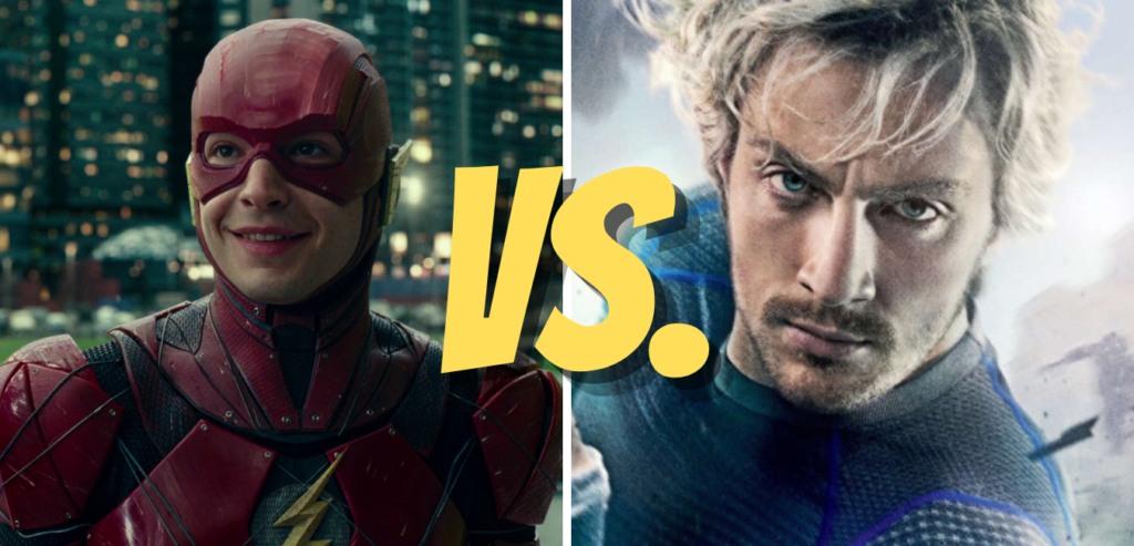 who is faster the flash or quicksilver